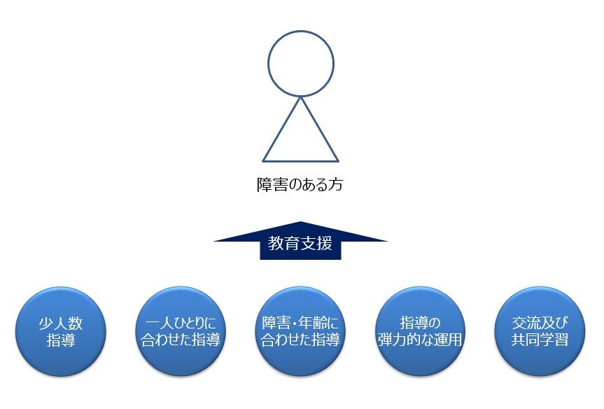 特別支援学校における教育システム概要